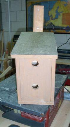 nistkasten von innen vogelh user zum selber bauen pinte. Black Bedroom Furniture Sets. Home Design Ideas