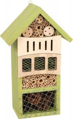 Small Foot Hotel pre hmyz zelený Bird, Outdoor Decor, Home Decor, Decoration Home, Room Decor, Birds, Interior Decorating