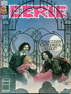 1978-79 'Eerie' Magazine #92-93 #96-98 - Warren Publishing