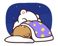 Milk And Mocha Sleeping GIF - Tenor GIF Keyboard - Bring Personality To Your Conversations Images Kawaii, Cute Couple Cartoon, Cute Cartoon Pictures, Cute Love Pictures, Cute Love Cartoons, Cute Good Night, Good Night Gif, Chibi Cat, Cute Chibi