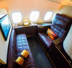 Etihad Airways A380 First Class Apartment 4K