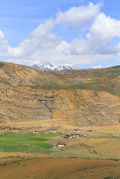 Kaza, Lahaul n Spiti, Himachal Pradesh_ India