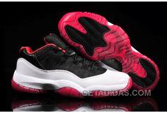 http://www.getadidas.com/air-jordan-11-low-top-black-red-white-authentique.html AIR JORDAN 11 LOW TOP BLACK RED WHITE AUTHENTIQUE Only $78.00 , Free Shipping!