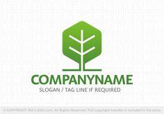 Pre-designed logo 7095: Leaf Tree Logo 2