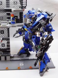 "https://flic.kr/p/kEvikP | TMF-01 Toromekian Blue | My original Mech(Robo) ""Toromekian Blue"" made it from LEGO This almost full action! Various poses can be!"