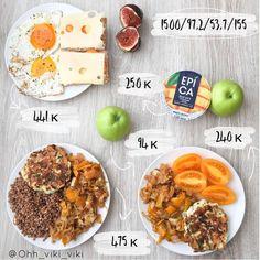 "Виктория Юшкевицс on Instagram  ""Меню на 1500 ккал🙌😃       🥗 Завтрак      яичница из 2 яиц     2 хлебца     сыр 30 гр     сыр мягкий типа Хохланд 10  гр ... d38e98ceb25"
