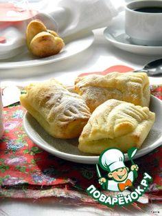 Подушечки  Polsterzipf - воздушные и ароматные подушечки, идеальны для романтического завтрака! Форма может быть любой - треугольнички, сердечки и т. д. За рецепт благодарю ingwervanille.