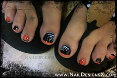 halloween toe nail art » Nail Designs & Nail Art