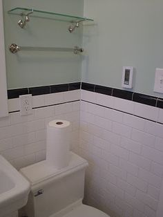 Classic 1920's bathroom