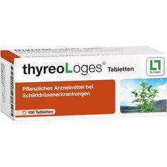 THYREO LOGES Tabletten:   Packungsinhalt: 100 St Tabletten PZN: 06643503 Hersteller: Dr. Loges + Co. GmbH Preis: 11,36 EUR inkl. 19 %…