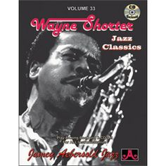 Wayne Shorter: Jazz Classics, Vol. 33 (Play-a-Long) (Book & CD) (Jazz Play-A-Long for All Instrumentalists) Saxophone, Clarinet, Ron Carter, Wayne Shorter, Long Books, Online Music Stores, Miles Davis, Jazz, Songs