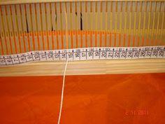 Quiero Pura Lana: 2° CLASE DE TELAR: cálculo para la urdimbre Lana, Textiles, Crafts, Diy, Weaving, Carpet, Rug Loom, Loom Knitting Patterns, Tapestry Weaving
