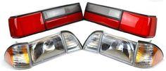 Mustang Headlight & LX Taillight Combo Kit (87-93)