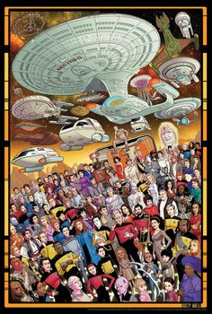 Who Is Missing From These Star Trek: TNG 30th Anniversary Posters?