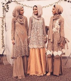 Wedding Hijab Styles, Hijab Wedding Dresses, Pakistani Wedding Outfits, Pakistani Dresses, Gaun Dress, Kebaya Dress, Dress Pesta, Islamic Fashion, Muslim Fashion