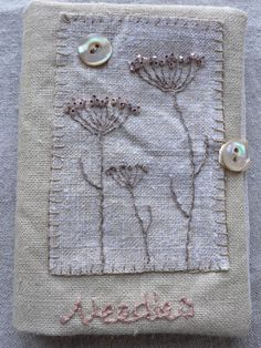 Saturday Stitches: I love the simple beauty of this piece.