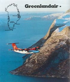 Gronlandsflyg / Greenlandair / Air Greenland