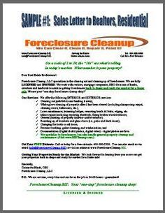 Business plan for buying foreclosures