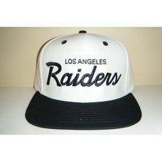 4baab998c6cec Los Angeles Raiders NEW Vintage Snapback Hat  10.00