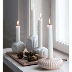 kähler hammershøi lysestake hvit