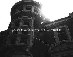 """AHS house: """"your going to die in there"""""""