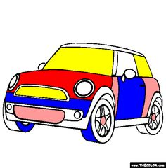 bridgeedfoundationcom mini cooper by the bridge ed foundation teachers coloring page