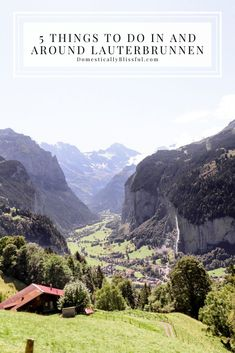 5 things to do in and around Lauterbrunnen Switzerland for a day full of fun and adventure. Best Places To Vacation, Maui Vacation, Places To See, Malta, Monaco, Maui Hotels, Portugal, Visit Switzerland, Disney Hotels
