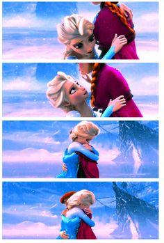 An act of true love will thaw a frozen heart. <3