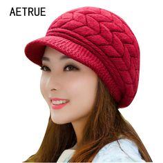39c57443753 Price-5  Winter Beanies Knit Women s Hat Winter Hats For Women Ladies  Beanie Girls