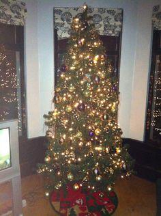 Our Xmas Tree! Xmas Tree, Holiday Decor, Home Decor, Style, Swag, Decoration Home, Christmas Tree, Room Decor, Xmas Trees