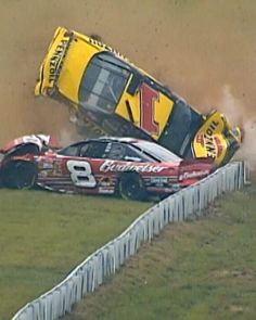"6,965 Likes, 104 Comments - NASCAR (@nascar) on Instagram: ""Incredible to see @DaleJr and Steve Park walk away from this 2002 crash, arm in arm.…"""