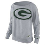 Nike Green Bay Packers Women's Dri-FIT Epic Wildcard Long Sleeve T-Shirt