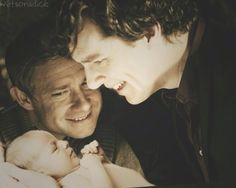 :O Ben with a baby!!!