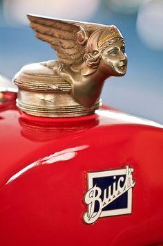 1928 Buick Cutsom Speedster Hood Ornament by Jill Reger