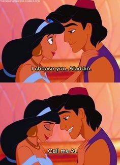 I choose you, Aladdin. #Disney