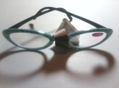 703fa281ae3 Reading Glasses Magnifying Reader s - Robin Egg Blue with Black   White  Designs Color Frames These are magnifying reader glasses with plastic lenses  and ...