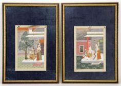 7009 - Pr. 19th C. Middle-Eastern Book Illustration Plates Autumn Estate Auction | Official Kaminski Auctions