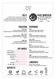 Cv Design, Graphic Design, Resume Ideas, Data Visualization, Resume Templates, Business Women, Student, Education, Woman