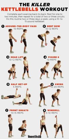 A Beginners Guide to Kettlebell Exercise for Weight Loss [Video] #fitness #kettlebell