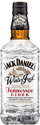 "Winter Jack Jack Daniel's Tennessee Whiskey - ""A seasonal blend of apple cider liqueur, Jack Daniel's Old No. 7 Tennessee Whiskey and holiday spices"" Whisky, Cigars And Whiskey, Scotch Whiskey, Bourbon Whiskey, Jack Daniels Whiskey, Jack And Jack, Wine And Liquor, Liquor Bottles, Jack Winter"