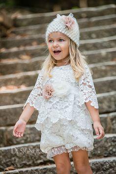 des.#Cesara  Lace set with handmade knitted bonus (moher) and silk flowers  #babydress #βαπτιστικό για #κορίτσι #vaptisi #βάπτιση #designerscat #βαπτισηκοριτσιού #βαπτιστικά #christening for #girl, design by #alexandralati, #kindsfashion #luxurydress