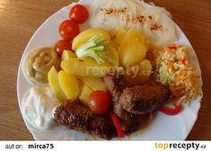 Čevapčiči lll. recept - TopRecepty.cz Maggi, Keto, Cobb Salad, Low Carb, Breakfast, Health, How To Make, Food, Life