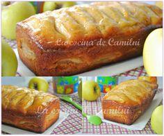 Bizcocho de manzana y queso batido.  http://lacocinadecamilni.blogspot.com.es/2014/03/bizcocho-de-manzana-y-queso-batido.html