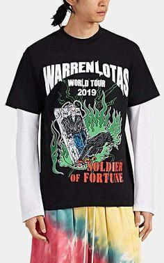 ea4eb612e754 Warren Lotas Men s World Tour Cotton T-Shirt - Black