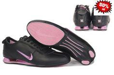 Nike Shox Rose Et Noir