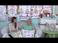 An Interview with Lori Holt of Bee in My Bonnet - Fat Quarter Shop - YouTube