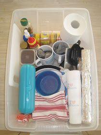 Camping kitchen box guides (weekend and weeklong)