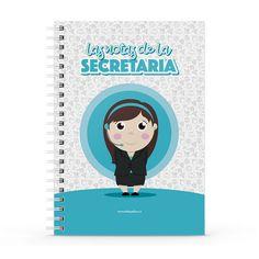 Cuaderno XL - Las notas de la secretaria, encuentra este producto en nuestra tienda online y personalízalo con un nombre. Notebook, Cover, Secretary, Notebooks, Report Cards, Day Planners, The Notebook, Exercise Book