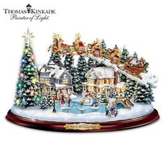 And to all a good night by Thomas Kinkade                                                                                                                                                     Plus