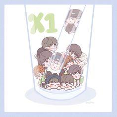 Mini Library, Korean K Pop, I Still Love Him, Kpop, My Sunshine, Chibi, Art Drawings, How Are You Feeling, Fan Art